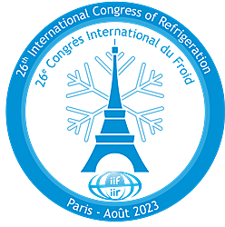 IIR International Congress of Refrigeration ICR 2023